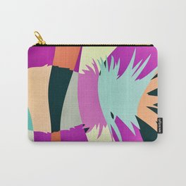 Sliced Abstract Ananas Carry-All Pouch