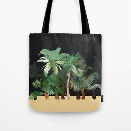 Tropical Landscape Tote Bag