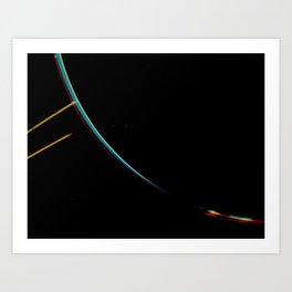 Jupiter's Rings Art Print