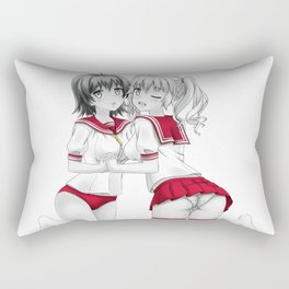 Seifuku Girls II Rectangular Pillow