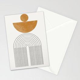 Geometric Modern Shape Study No2. Stationery Cards
