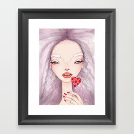 lollipop Framed Art Print