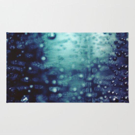 Bubbles Macro Rug