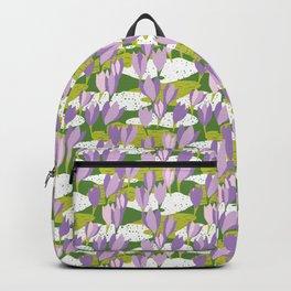 First crocus Backpack