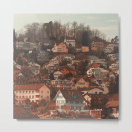 Zurich Gold Coast II Metal Print