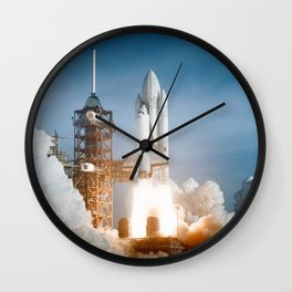 STS-1 Space Shuttle Launch Wall Clock