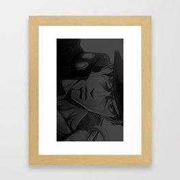 jjba jotaro kujo iphone case Framed Art Print