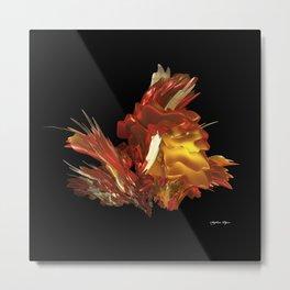 Fire & Flames Metal Print