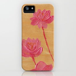 The 4 lotus iPhone Case
