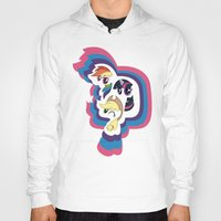 mlp Hoodies featuring MLP by pixel.pwn | AK