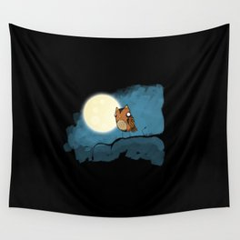 night owl rides again Wall Tapestry