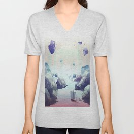 Edge of the Earth Unisex V-Neck