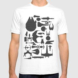 Famous Sci Fi Ships T-shirt