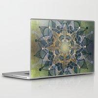 chakra Laptop & iPad Skins featuring Heart Chakra by brenda erickson