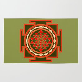 Sri Yantra Rug