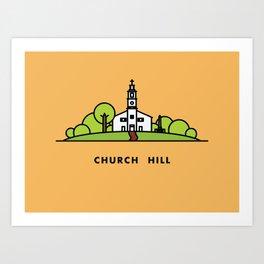 Church Hill Art Print