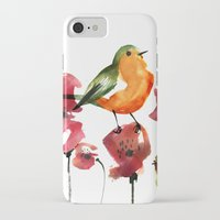 robin iPhone & iPod Cases featuring ROBIN by genie espinosa