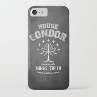 gondor iPhone & iPod Cases featuring House Gondor by Nxolab