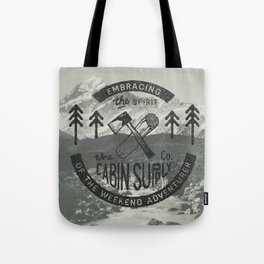 CABIN SUPPLY - weekend adventurer Tote Bag