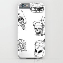 Monster Food iPhone Case