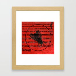 fly2 Framed Art Print