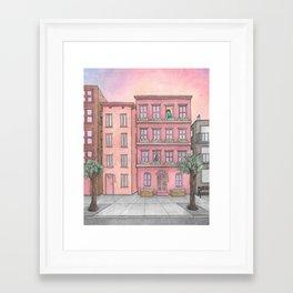 Summer Dreaming Framed Art Print