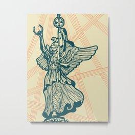 Berlin-Angel of Victory Metal Print