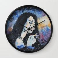 lana Wall Clocks featuring Lana by kente