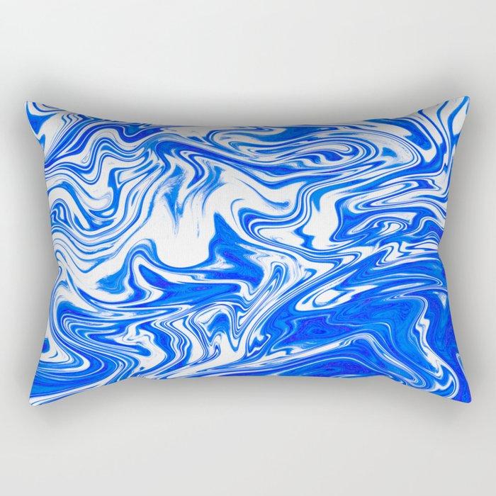 Marbled XX Rectangular Pillow