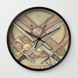 The Amber Inn Wall Clock