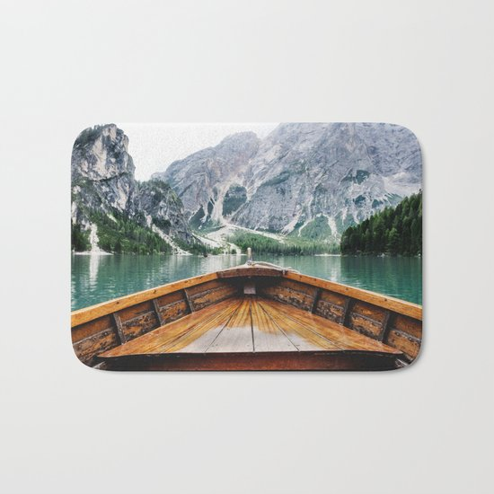 Wanderlust: Taking the Sustainable Route Bath Mat