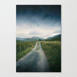 Mountain Panorama 2 Canvas Print