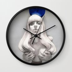Suddenly the Koons is me Wall Clock
