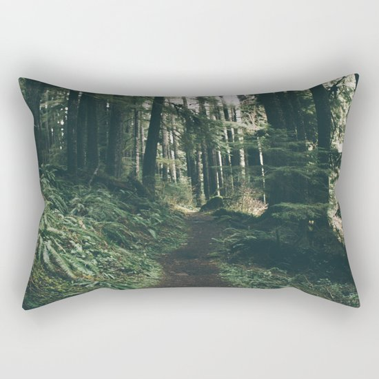 Happy Trails VII Rectangular Pillow