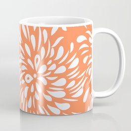 DAHLIA TEAR DROPS RAIN DROPS SWIRLS Coffee Mug