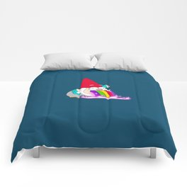 Rainbow Barfing Gnome Comforters