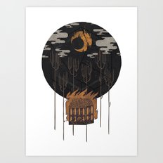The Most Beautiful Night of All Art Print