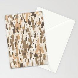 Digital Desert Camo Stationery Cards