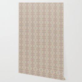 Anna's Cottage Pattern Print Design Wallpaper
