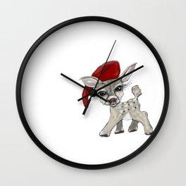 Little Rudolf Wall Clock