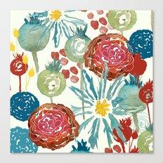 Wildflower Desert Canvas Print