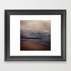 Formby Beach Framed Art Print