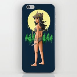 The Girl Who Killed the Boy Who Cried Wolf iPhone Skin