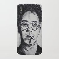 robert downey jr iPhone & iPod Cases featuring Robert Downey Jr. by Haley Erin