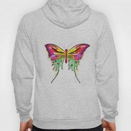 Art-Deco inspired butterfly Hoody