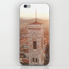 FLORENCE ROOFTOPS iPhone Skin