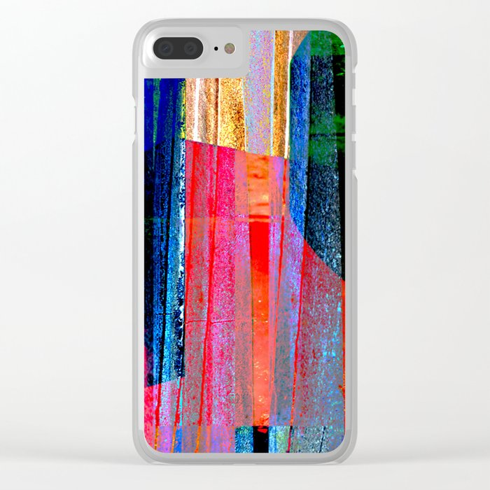 Iron Curtain Clear iPhone Case