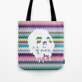 Color the Skull Tote Bag