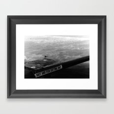 Bait and Fish Framed Art Print