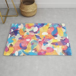 Chaotic Construction Rug